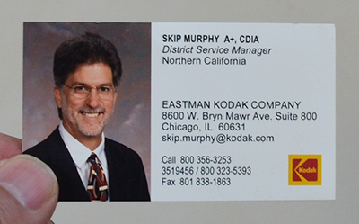 I learned a lot during my many years at Kodak. They were a truly great American Company.